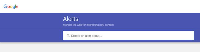 نحوه تنظیم گوگل آلرتس
