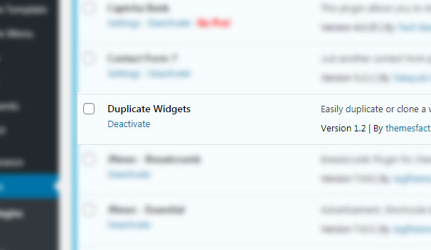آموزش Duplicate Widgets